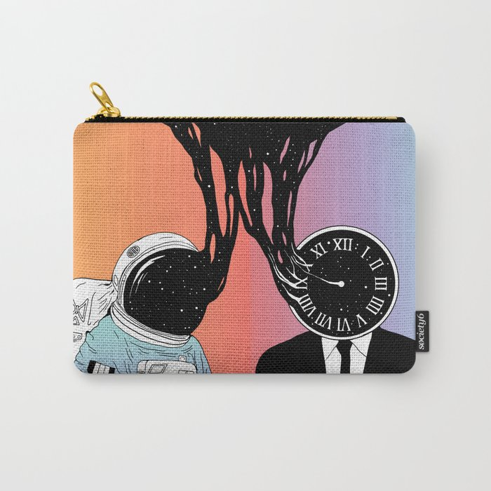 A Portrait of Space and Time ( A Study of Existence) Carry-All Pouch