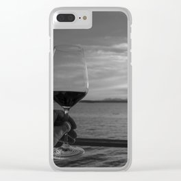 Toast to the Ocean Clear iPhone Case