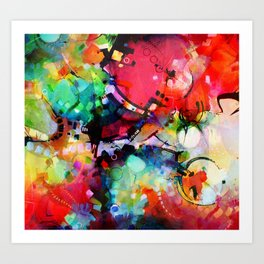 Color Cacophony Art Print