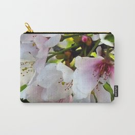 Cheery Cherry Blossoms Carry-All Pouch