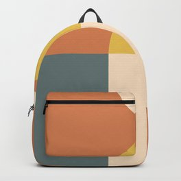 Abstract Geometric 04 Backpack
