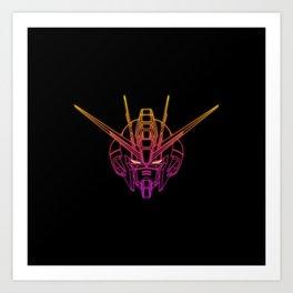 Gundam Strike Freedom Art Print