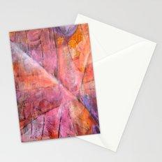 Leaf Rubbing Stationery Cards