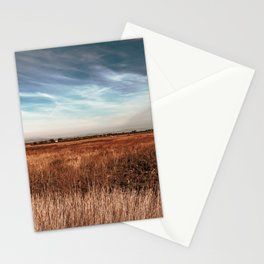 Spring sunset in the lagoon of Grado Stationery Cards