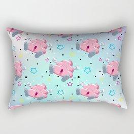 Pink Poo Rectangular Pillow