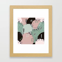 Four wheels green #homedecor Framed Art Print