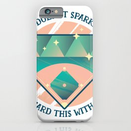 It gleams not, but I guard it with my life iPhone Case