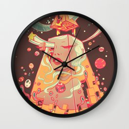 Don't Wake Me Wall Clock