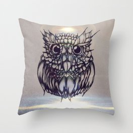 grey life Throw Pillow