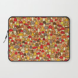 Mouse among mushrooms Laptop Sleeve