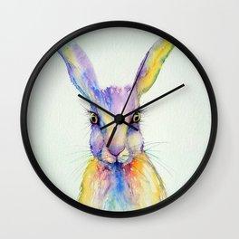 Hare Art Print Wall Clock