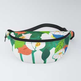 White Picket Fence Fanny Pack