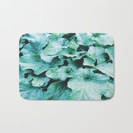 Green Leaves Bath Mat
