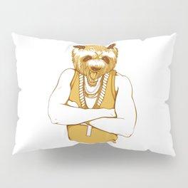 Bear - Panda - You're a Beast Pillow Sham