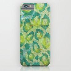 Leopard Jungle iPhone 6s Slim Case