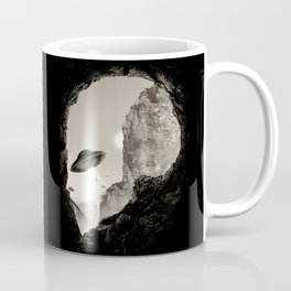 Alien´s Head Coffee Mug