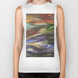 Colors in the Wind Biker Tank