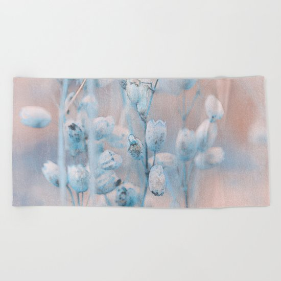 Wild flowers(winter) Beach Towel