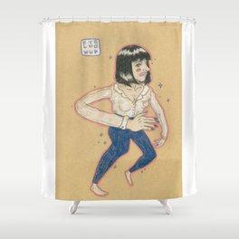 MIA WALLACE // UMA THURMAN Shower Curtain