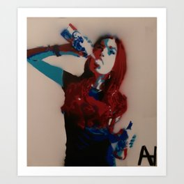 Chloe Dykstra Art Print