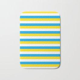 argentina flag stripes Bath Mat