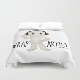 Wrap Artist   Mummy Duvet Cover