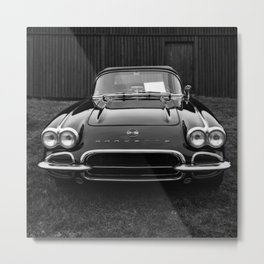 Classic Chevrolet Corvette  Metal Print