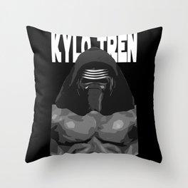 Kylo Tren Throw Pillow