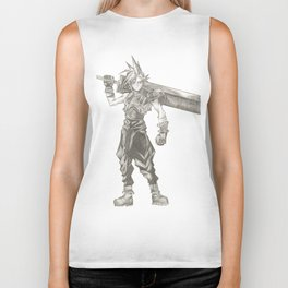 Cloud Strife Final Fantasy VII Biker Tank