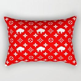 BIG RED Rectangular Pillow