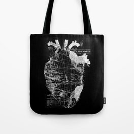 Heart Wanderlust Tote Bag