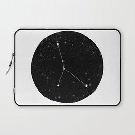 Cancer zodiac constellation star chart night sky star signs Laptop Sleeve