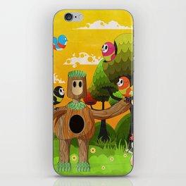 Treeborn iPhone Skin