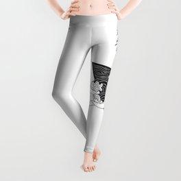 Whale Wreck Leggings