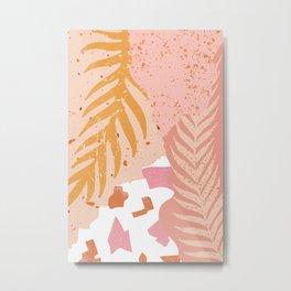Palm Philosophy Metal Print