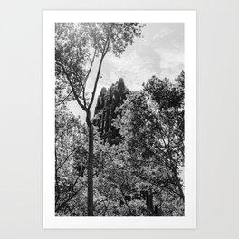 Bryant Park IV Art Print