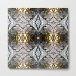 Pattern 38 - Ice Metal Print