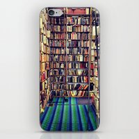 books iPhone & iPod Skins featuring Books by Whitney Retter