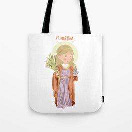 St Martina Tote Bag
