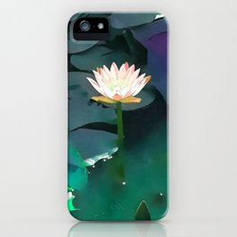 Joie de vivre ~ Lotus Art #society6 iPhone Case