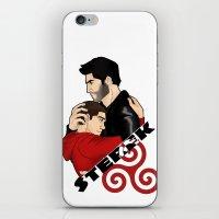 sterek iPhone & iPod Skins featuring Sterek by adorible
