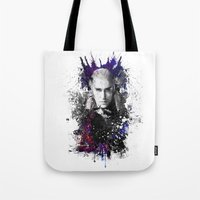 thranduil Tote Bags featuring Thranduil by Ryky