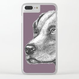 Scanning Her Territory Clear iPhone Case