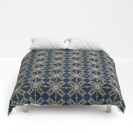 Luxury Spanish Tile - Pattern Comforters