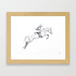 Horse commission  Framed Art Print