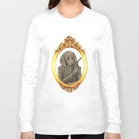 the hound Long Sleeve T-shirts featuring James Hound by BunBun Supreme