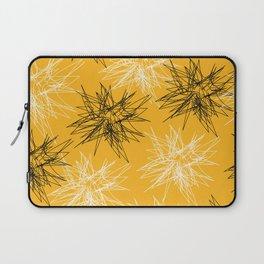 Yellow Squiggles Laptop Sleeve