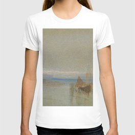 "J.M.W. Turner ""Fishing Boats Becalmed off le Havre"" T-shirt"