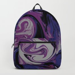 Purple cloud Backpack