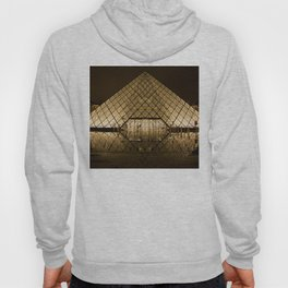 louvre glass pyramid paris pyramid Hoody